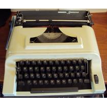 196 Prd- Máquina De Escrever- Remington Ipanema- Portátil