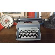 Máquina De Escrever Remington Carro Grande