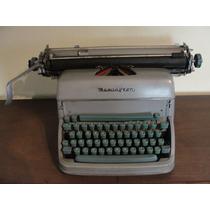 Máquina De Escrever - Remington - Corpo De Metal