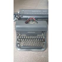 Maquina De Escrever Antiga Remington Rand + De 60 Anos