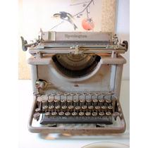 Máquina De Escrever Antiga Remington Ótimo Estado Década 40
