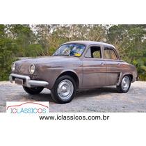 Renault Gordini Teimoso 1966 - 0km - Lindissimo - Iclássicos