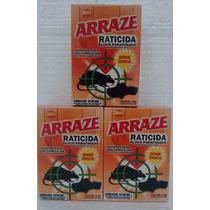 Veneno Mata Rato Arraze Parafinado Kit Com 03 Caixas