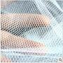 Tela Para Mosquitos Mosquiteiro P/ Janelas Velcro Cor Branca