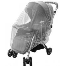 Tela Protetora Anti Mosquito C/ Elástico P/ Carrinho De Bebê