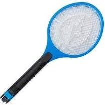 Raquete Mata Mosquito E Mosca Elétrica Recarregável Bi-volt