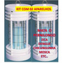 Mata Mosca Elétrico Zica Dengue Inseto B4 Ms Killmo - Kit 02