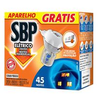 Sbp Repelente Eletrico Liq.45 Noites ( Apare+refil )