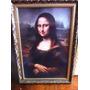 Quadro Mona Lisa A2 45x60 - Com Moldura E Vidro Antireflexo