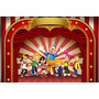 Painel Para Festa Infantil 1,00x1,50 Metros Circo
