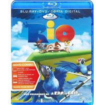 Bluray + Dvd Rio (original E Lacrado)