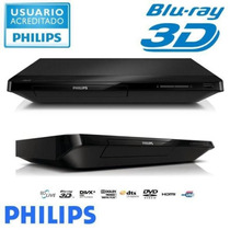 Blu-ray Player Philips Bdp-2180k Usb/fullhd/hdmi/ethernet/3d