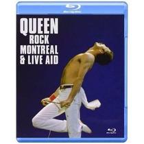 Blu-ray Queen Rock Montreal & Live Aid (lacrado)