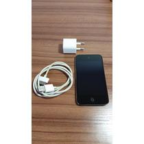 Ipod Touch 4 8gb (defeito Botão Power) + Case Retro