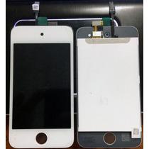 Tela Completa Ipod 4 Geração Vidro/touch/lcd Envio Imediato