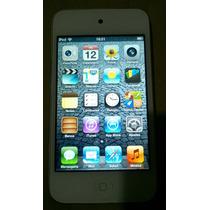 Ipod Touch 32gb Apple 4 Geração Branco Cabo Mp3 - Usado