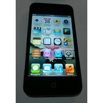 Ipod Touch 8gb Apple Preto 4 Geração - Defeito Falante Leia