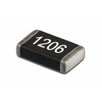 Kit 100 Unidades Resistor 1/4w 10k - Smd 1206 5%
