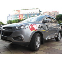 Par Capa Aplique Para Retrovisor Cromado Para Hyundai Ix35.
