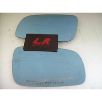 Lente Retrovisor Santana Azul Lr Imports Abc
