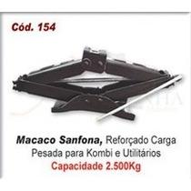 Macacos - Sanfona Reforçado 2500 Kg Kombi E Utilitarios