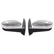 Aplique Capa Cromada Retrovisor Gol/voyage/fox/up S/pisca