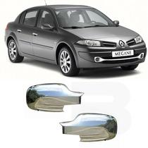 Capa Retrovisor Cromado Renault Megane Ld / Le