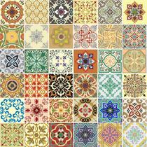 Adesivo Para Azulejos Ladrilho Português