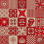 Adesivo De Azulejo Mix Divertido 2 Vermelho 15x15