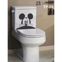 Adesivo Decorativo Para Banheiro - Caixa Acoplada - Mickey