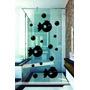 Adesivo Decorativo Parede Banheiro Box Peixe Bolhas Mar