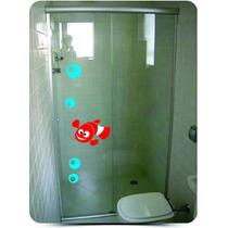 Adesivos Box Blindex Decorativo Infantil Banheiro Nemo Filme