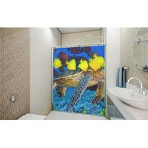 Adesivo (pelicula) Para Box De Banheiro - Padrão 2 Folhas