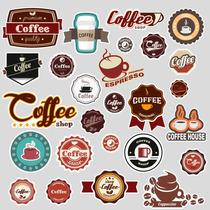 Adesivo Pop Art Stickers Café Vintage 8 Cartelas Com 52 Uni