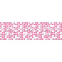 Faixa Decorativa Border - Modelo Pastilhas 750 Rosa