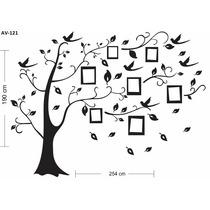Adesivo Decorativo Árvore Genealógica Familia Porta Retrato
