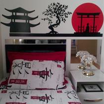 Adesivo Decorativo De Parede Oriental Japao Coreia China