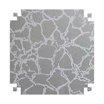 Papel Adesivo Contact - Tema: Craquete Prata
