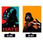 Star Wars Filme Adesivos Parede Decoração 7x10 Cm
