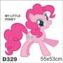 Adesivo Decorativo Infantil My Little Poney D329