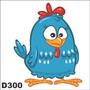 Adesivo Decorativo Infantil Galinha Pintadinha D300