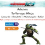 Adesivo123 Adesivo Tartarugas Ninja Mutante 2014 Quarto