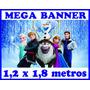 Painel Decorativo Festa Infantil Banner 1,20x1,80 Metro 1dia