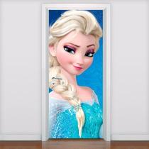 Adesivo Decorativo Porta Frozen