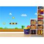 Adesivo Papel Parede Painel Infantil Cenário Mario Bros M01