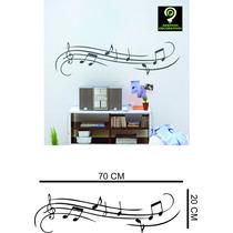 Adesivos Decorativos Parede Notas Musicias Recorte