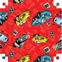Papel Adesivo Contact Turbocar Vermelho 45 Cm X 10 Metros