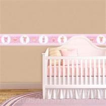 Faixa Adesiva Decorativa Parede Para Quarto Bebe Menina
