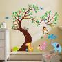 Adesivo Decorativo Infantil Zoo Safari Quarto De Meninos