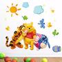 Adesivo De Parede Infantil Ursinho Pooh Puff Ótima Qualidade